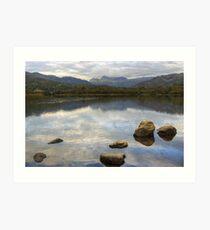 Elterwater & The Langdale Pikes Art Print