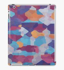 Watercolor pieces iPad Case/Skin