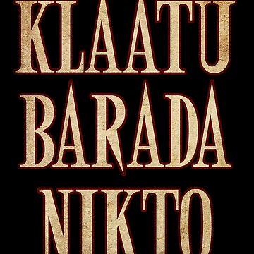 Ash vs Evil Dead - Klaatu Barada Nikto by Yithian