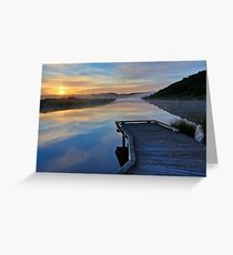 Sunrise, Gellibrand River Greeting Card