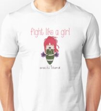 Fight Like a Girl - Blood Fighter T-Shirt