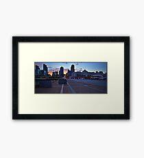 Street View at Broadway Pier Framed Print
