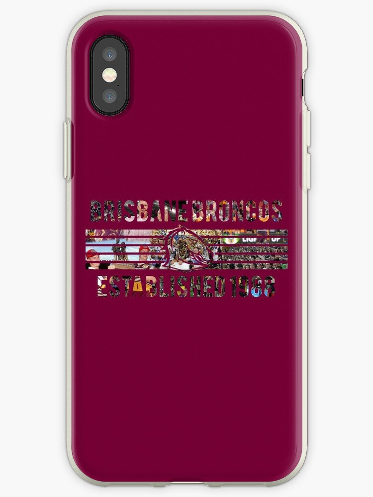reputable site c83e0 b3592 'Brisbane Broncos - NRL' iPhone Case by SmithersSports