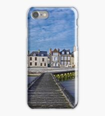 The seafront in Grandcamp iPhone Case/Skin