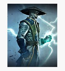 Raiden, Mortal Kombat Photographic Print