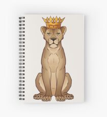 Lioness Queen Spiral Notebook