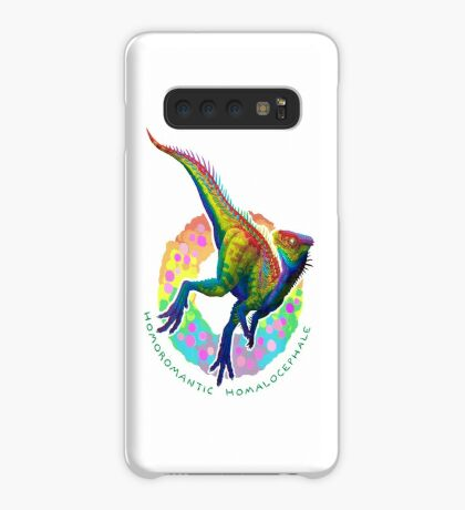 Homoromantic Homalocephale (with text)  Case/Skin for Samsung Galaxy
