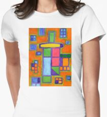 Colourful Windows Women's Fitted T-Shirt