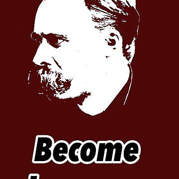 Friedrich Nietzsche by Shirtquotes