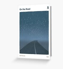 Jack Kerouac - On the Road Greeting Card