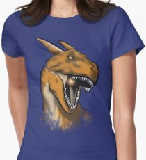 Charisaurus Rex Womens Fitted T-Shirt