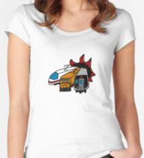 Trains?! Women's Fitted Scoop T-Shirt