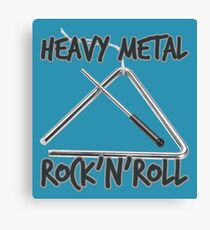 Heavy Metal Rock & Roll Canvas Print