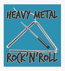 Heavy Metal Rock & Roll Photographic Print