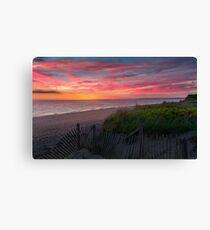 Herring Cove Beach Sunset Canvas Print