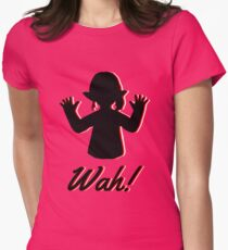 Lalafell Wah! Womens Fitted T-Shirt
