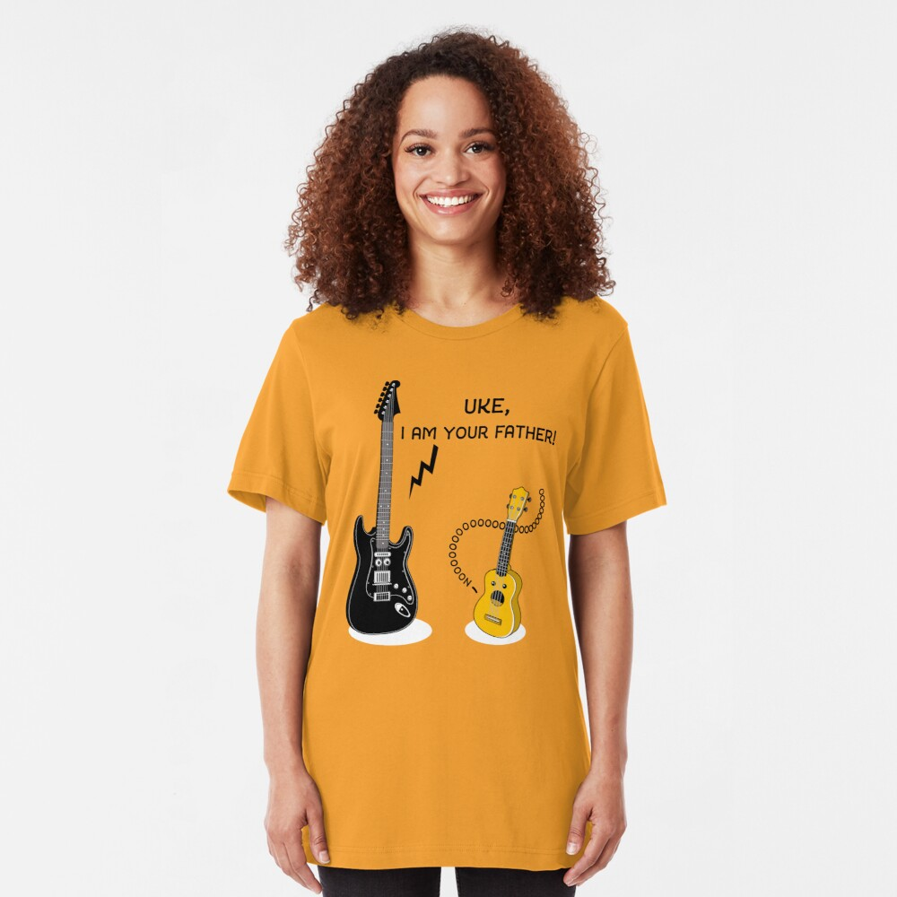 Uke, I am your Father! Slim Fit T-Shirt