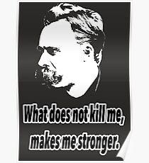 Friedrich Nietzsche quote 4 Poster