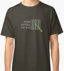 Think Outside the Box (White) Classic T-Shirt
