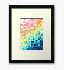 Pixels Framed Print