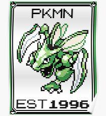 Scyther - OG Pokemon Poster