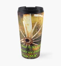 """Psalm 34:18""  by Carter L. Shepard Travel Mug"