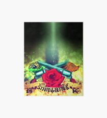 Stand & Be True (The Dark Tower) Art Board