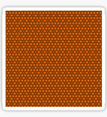 Abstract geometric pattern Sticker