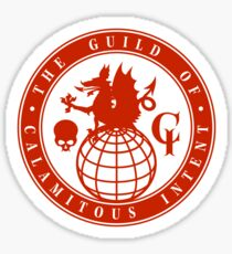The Guild of Calamitous Intent - The Venture Brothers Sticker