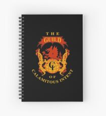 The Guild of Calamitous Intent - The Venture Brothers Spiral Notebook