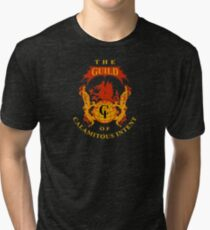 The Guild of Calamitous Intent - The Venture Brothers Tri-blend T-Shirt