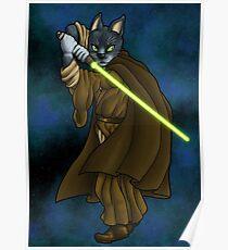 Cat Jedi (New) Poster