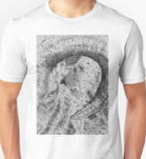 Goat Horn Etching Art T-Shirt