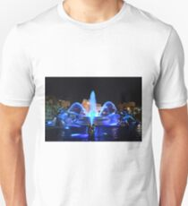 J.C. Nichols Fountain in Royal Blue Unisex T-Shirt
