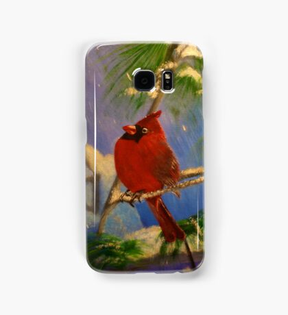 The Cardinal and the Star Samsung Galaxy Case/Skin