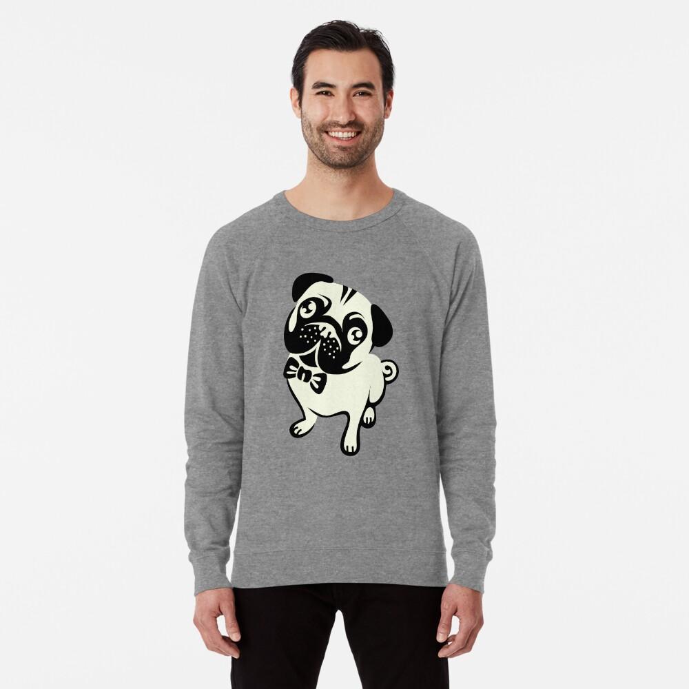 Mops Leben Leichter Pullover