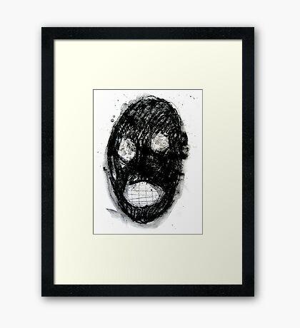 Clanky Man Framed Print