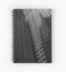 Big City Gebäude # 6 Grau und Grau Spiralblock