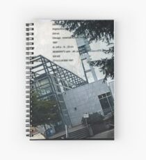 Portland Library Conference Collage Spiral Notebook