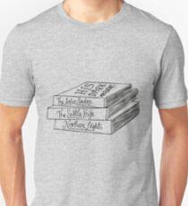 His Dark Materials Book Stack T-Shirt