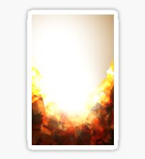 Abstract Explosion  Sticker