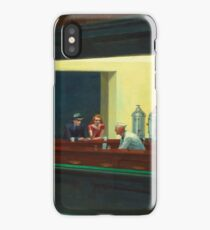Vintage Edward Hopper Nighthawks Diner iPhone Case