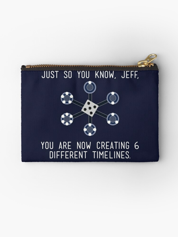 community different timelines studio pouches by mawalie redbubble