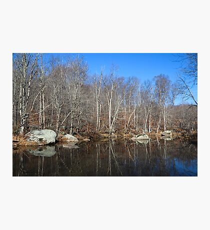 Early Winter Creek Photographic Print