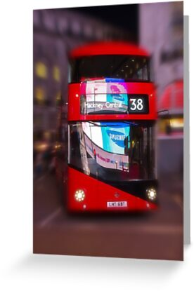 Big Red Bus by Ra12