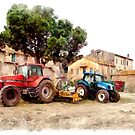 Tractors by Giuseppe Cocco