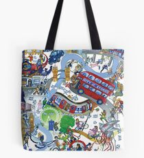 City of Stories Tote Bag
