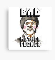 Pulp fiction - Jules Winnfield - Bad mother fucker Canvas Print
