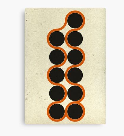 11 Circles Canvas Print