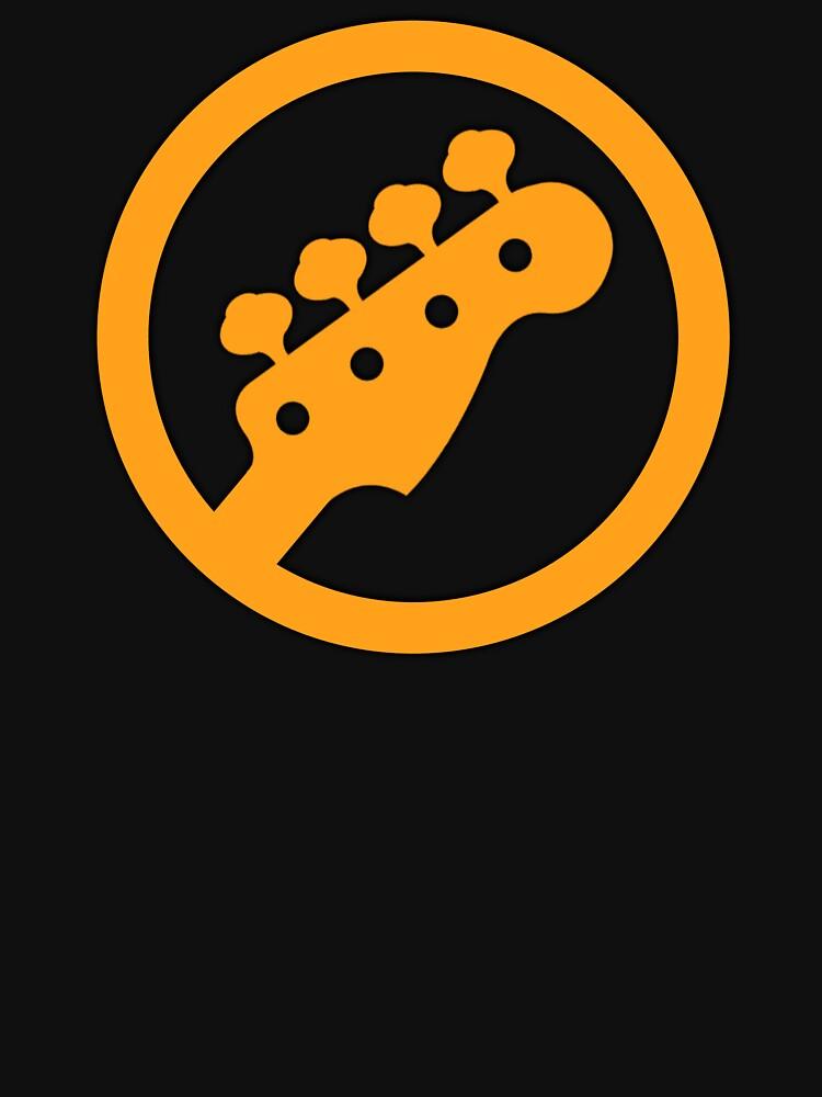 Orange Bass Ring by felinson